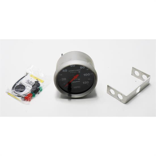 Auto Meter 3994 Sport-Comp Mechanical Speedometer, 120 MPH, 5 Inc