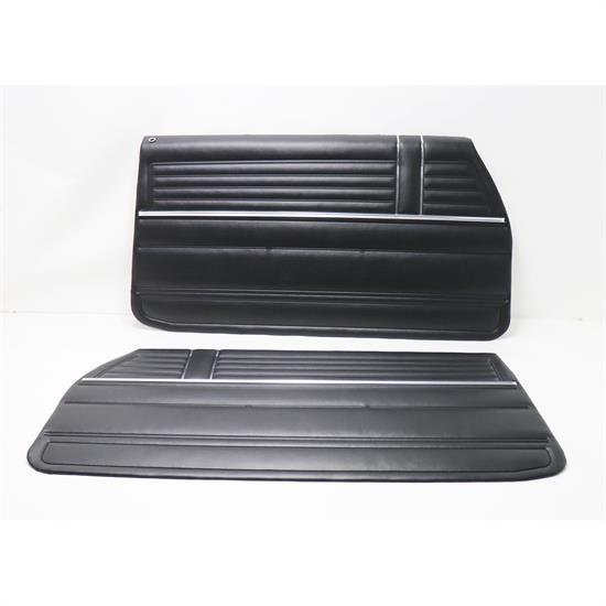 PUI PD310 Front Interior Door Panels, 1968 Chevelle, Pair