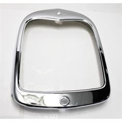 1928-29 Ford Model A Stock Radiator Grille Shell, Chrome