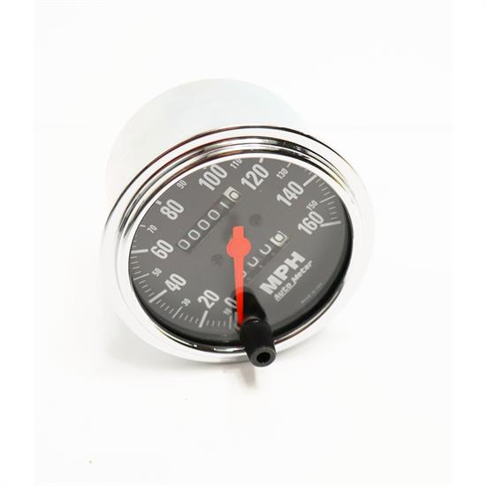 Auto Meter 2494 Traditional Chrome Mech Speedometer, 160 MPH, 3-3