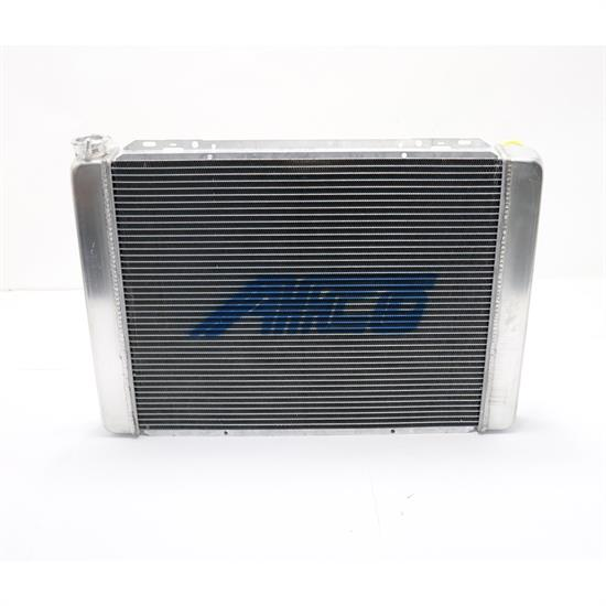 "AFCO 80101N Universal Fit 27.5"" Chevy Radiator, 22.38"" Core"