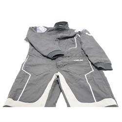 Simpson HX02321 Helix Racing Suit, Black, Large