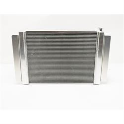 AFCO 80101FNP Aluminum Radiator, 27-1/2x19 Inch-Ford/Mopar