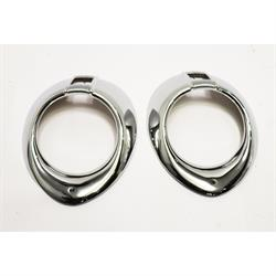 Headlight Trim Rings, 1940 Ford/Mercury Dlx, 1940-41 Ford Truck C