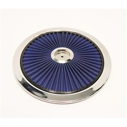 Spectre 47626 Extraflow Air Filter Assembly, 3in Tall, Blue
