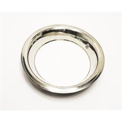 Stainless Steel Beauty Ring for 15 Inch GM Rally Wheel, 3 Inch Wi