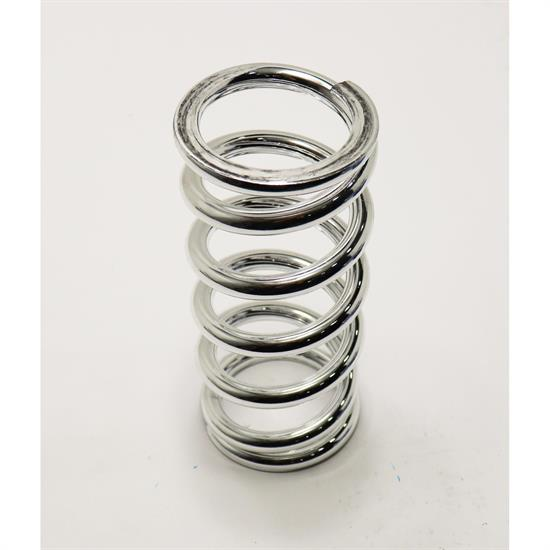 AFCO 23600CR 10 Inch Extreme Chrome Coil-Over Spring, 600 Rate