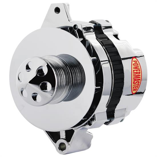 Powermaster 17802-362 Street Alternator, 105 Amps, Serp, 12V, GM