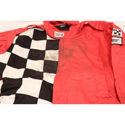 Finishline 2-Layer SFI-5 Fire Retardant Racing Suit, Red XL