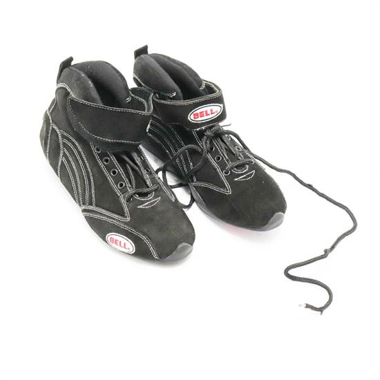 Bell Viper II Mid-Top SFI 3.3/5 Racing Shoes, Black Size 9.5
