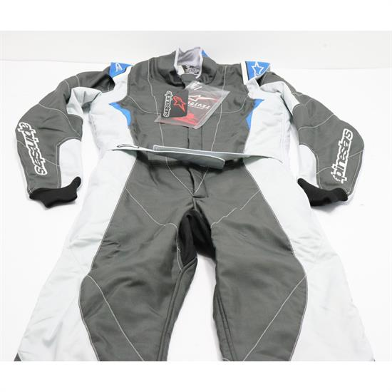 Alpinestars 3352116-1044-52 GP Pro Suit, Grey/Black, 52