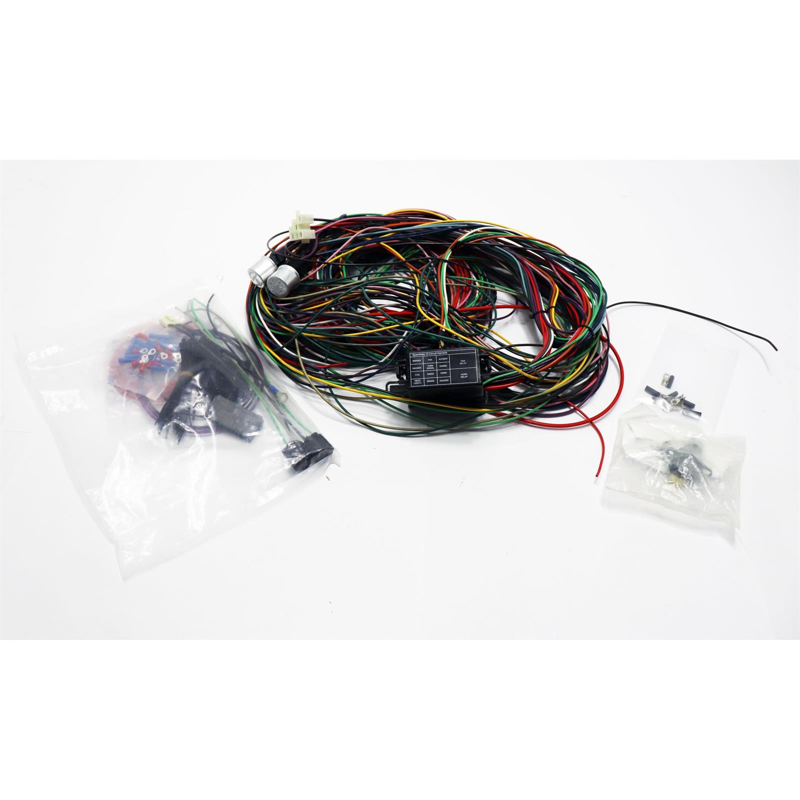 speedway economy 12 circuit wiring harness rh speedwaymotors com 2007 Chevy  Express Fuse Diagrams GM Fuse