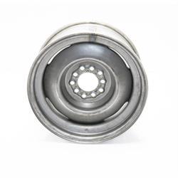 Speedway Vintage 16x7 Plain Steel Wheel, 5 on 5.5, 4 Inch BS