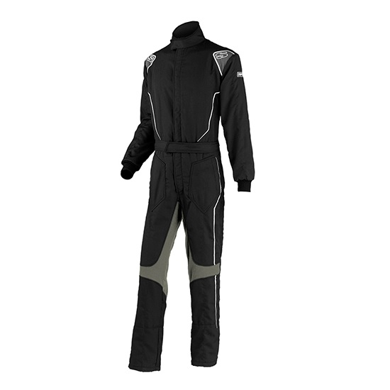 Simpson HX02121 Helix Racing Suit, Black, Small