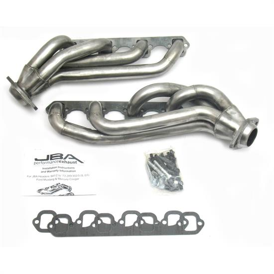 JBA PerFormance 1650S-2 Shorty Header, 65-73 Mustang 289/302