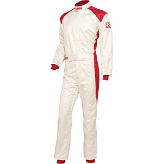 Simpson RS03321 HPD-1 Racing Suit, Red, Large