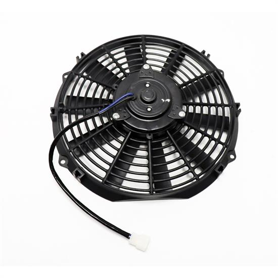 6 Volt Electric Radiator Cooling Fan-12 Inch Dia. Push/Pull-10 Bl