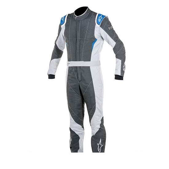 Alpinestars 3352116-1044-58 GP Pro Suit, Grey/Black, 58