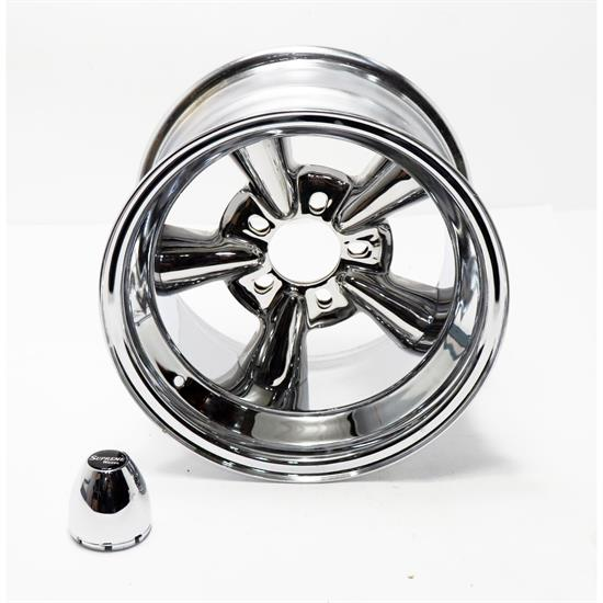Allied Wheel 6750099 Supreme 15 x 10 Wheel, 5 on 5/4.75/4.50