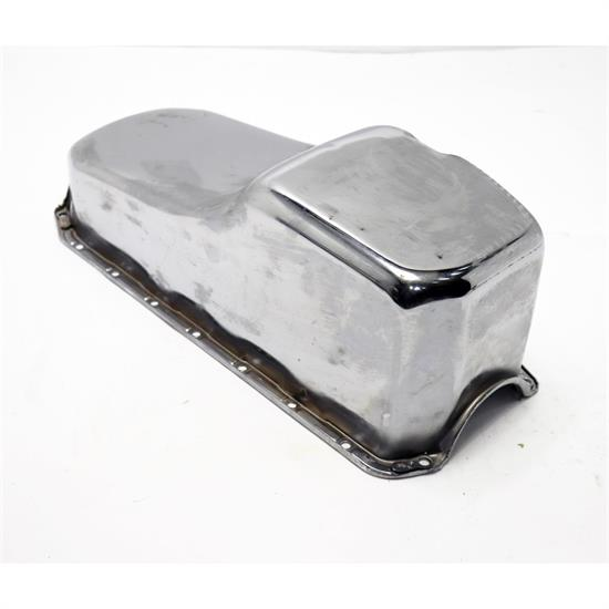1956-79 Stock Raw Steel Small Block Chevy Oil Pan
