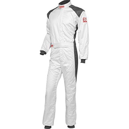 Simpson RS05421 HPD-1 Racing Suit, Grey, XL