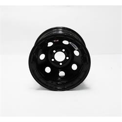 Speedway 15x8 IMCA Black Wheel 3 Backspace Beadlock 5 on 4-1/2