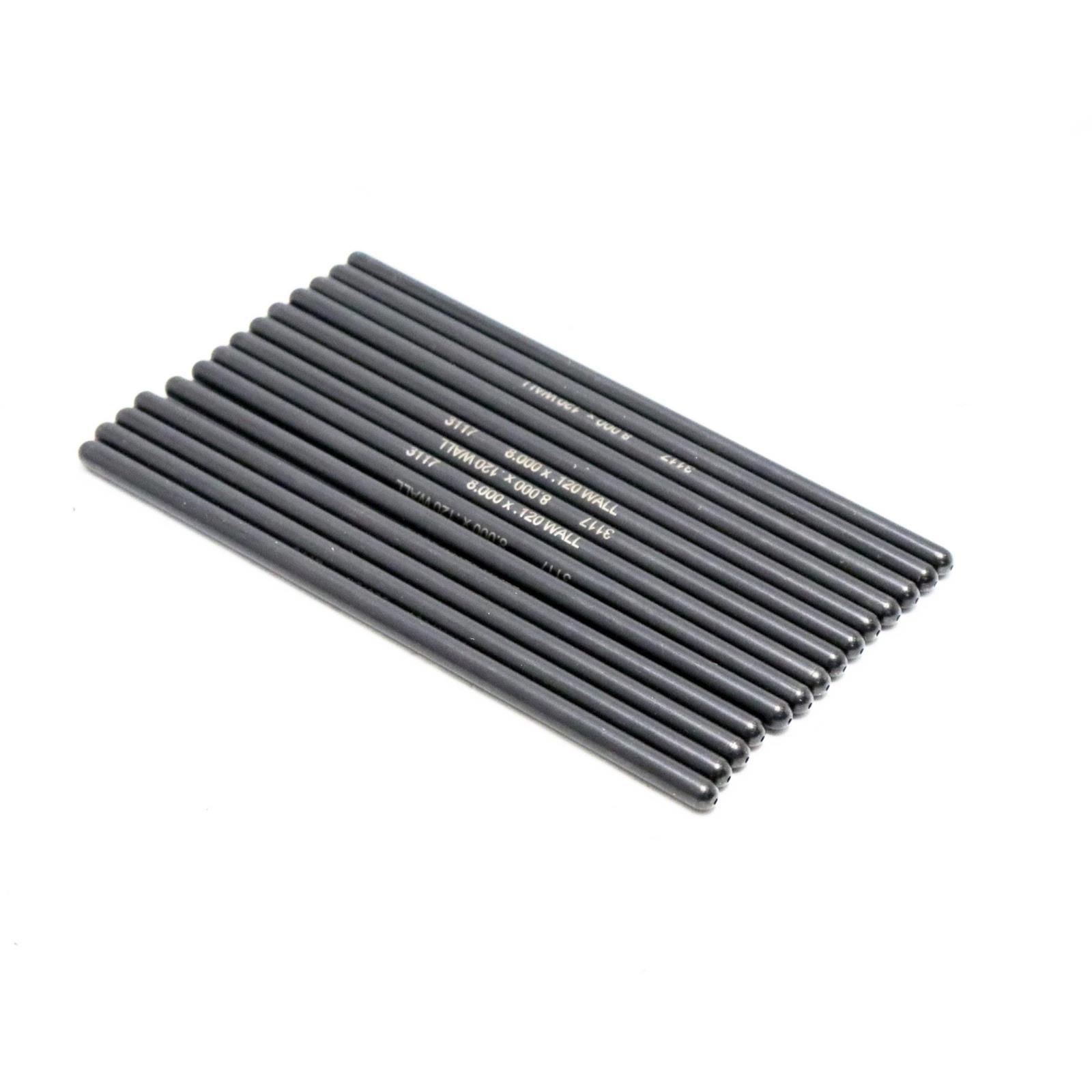 """Manley Engine Push Rod Set 25345-8; 1pc 4130 Chromoly .135/"""" Wall 3//8/"""" 8.300/"""""""