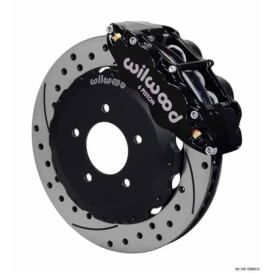 Wilwood 140-10968-D FNSL6R Front Brake Kit, Backdraft Cobra BMW E