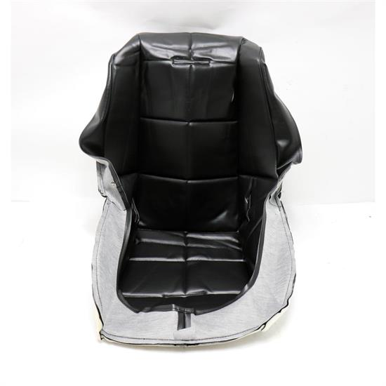 Fantastic Empi 62 2408 Poly Low Back Bucket Seat Cover Black Squares Uwap Interior Chair Design Uwaporg