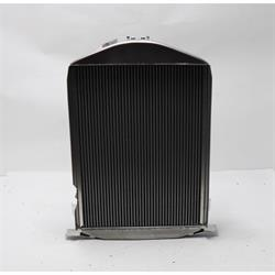 Griffin 7-70088 Deluxe Alum Radiator for 1932 Ford Chassis w/ SB
