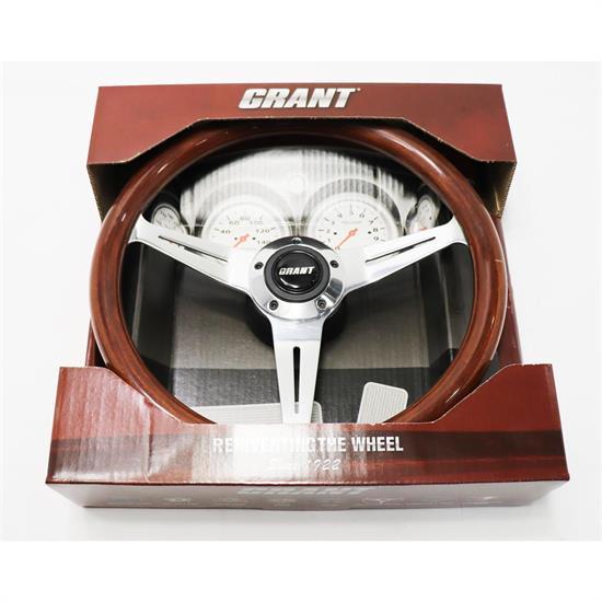 Grant Products 5196 Black Luster Billet Installation Kit