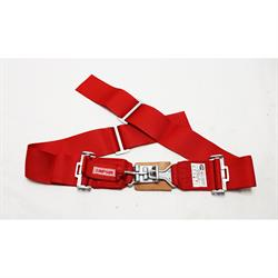 Simpson Wrap-Around Lap Belts, Latch and Link, Pull-Down