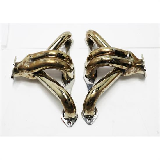Tight-Fit Stainless Steel Small Block Chevy Block Hugger Headers
