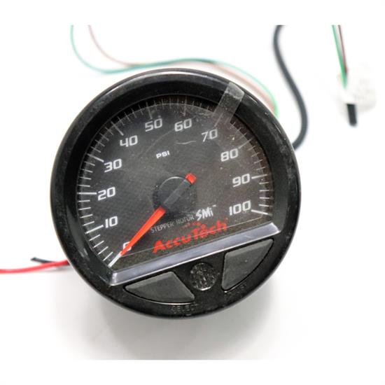 Longacre 46538 Stepper Motor Racing Gauge, Fuel Pressure 0-100 PS