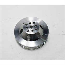 Small Block Chevy Billet Aluminum Water Pump Pulley, 6-7/8 Inch O