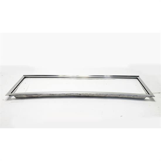 1928-1931 Model A Closed Car Windshield Frame, Polished