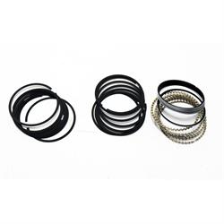 Style A Moly Chevy 350 Piston Rings, 030 Over