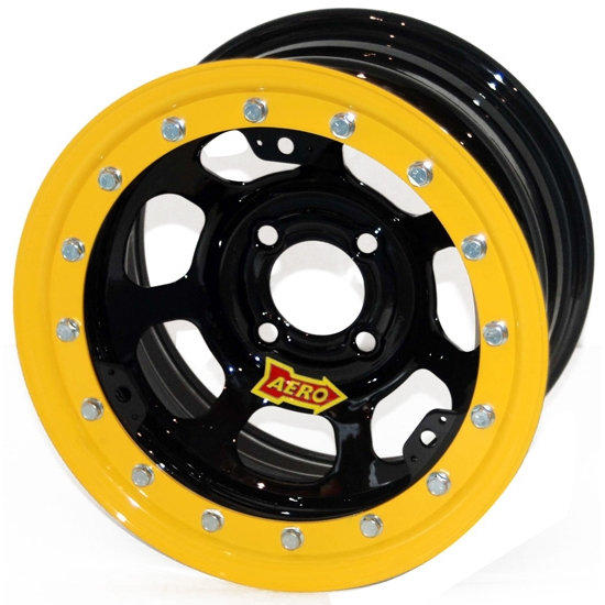 Aero 33-174030 33 Series 13x7 Inch Wheel, Lite, 4 on 4 BP, 3 Inch