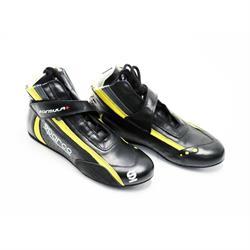 Sparco 001211 Formula+ SL-8 Racing Shoes, Black/Yellow 7