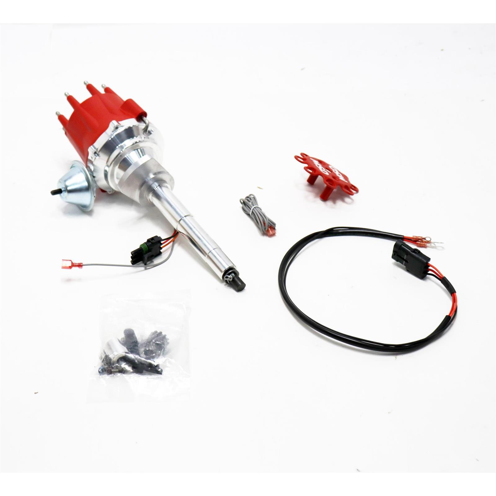 Msd 8573 1949 53 Flathead Ford V8 Electronic Distributor 12 Volt Wiring