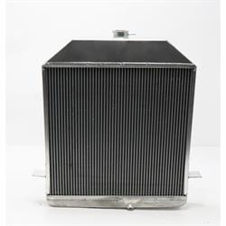 Griffin 7-70097 Deluxe Alum Radiator for 39-40 Ford w/Small Block