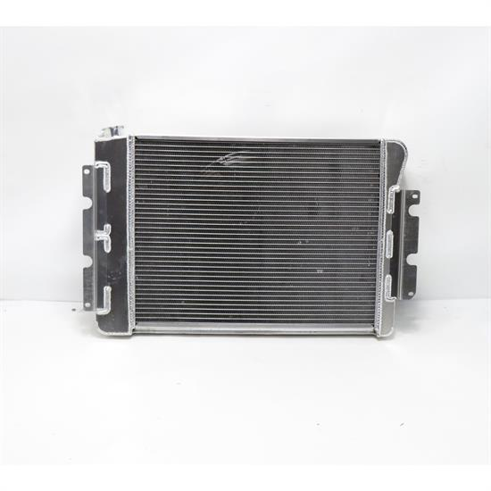 AFCO 28 x 18-3/8 Radiator, Single Fan & Trans Cooler All Satin