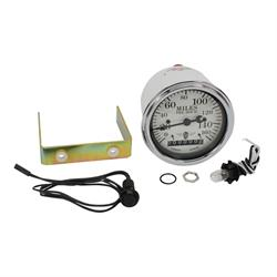 Garage Sale - Stewart Warner Individual Electric White Speedometer
