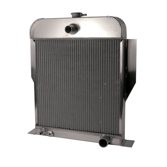 AFCO 80164-S-SB-N 1949-53 Ford Aluminum Radiator, Chevy Engine
