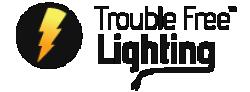 Trouble Free Lighting Logo